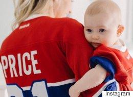La femme de Carey Price publie une photo d'allaitement qui ne fait pas l'unanimité