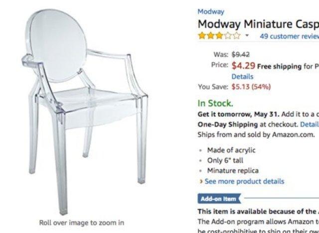 miniatur stuhl