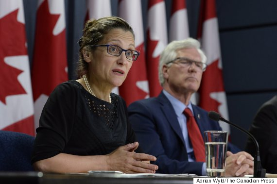 chrystia freeland jim carr