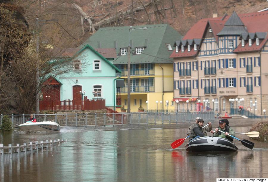 prague floods