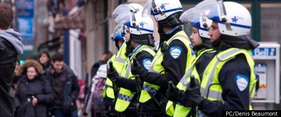 MARCHE BRUTALITE POLICIERE