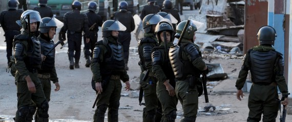 ALGERIAN SECURITY FORCES