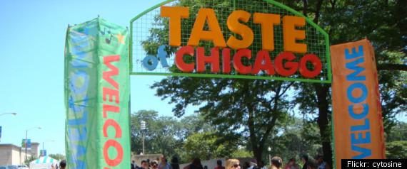 TASTE OF CHICAGO 2012 CONCERT TICKETS