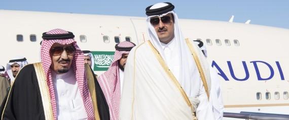 KING OF SAUDI ARABIA AND EMIR OF QATAR