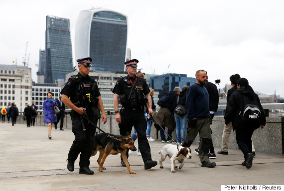 london attack police