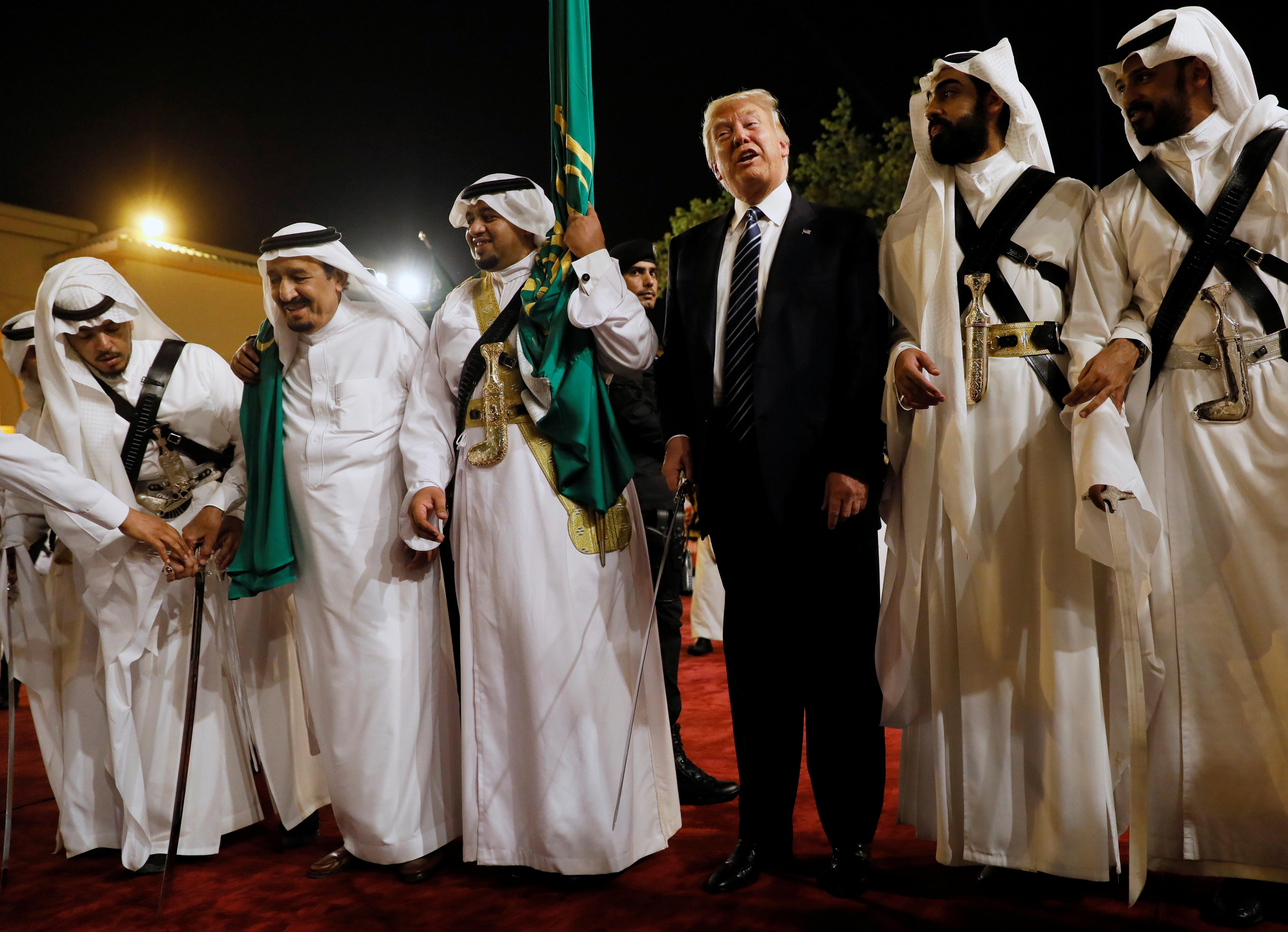 trump sword