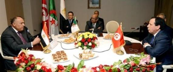 RUNION TRIPARTITE LIBYE