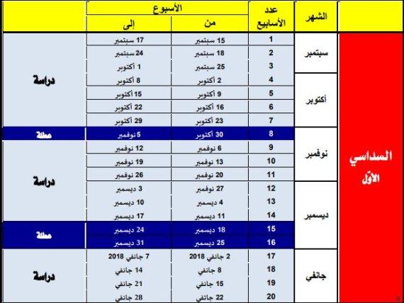 calendrier scolaire tunisie
