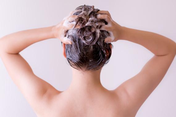 shower hair damage