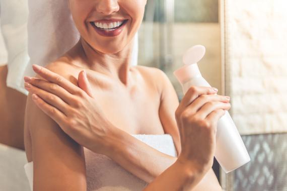 moisturizing the body