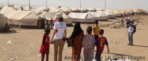 REFUGEE VOLUNTEER IRAQ