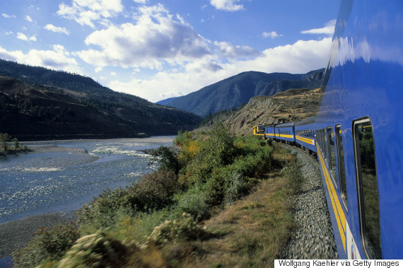 canadian train travel