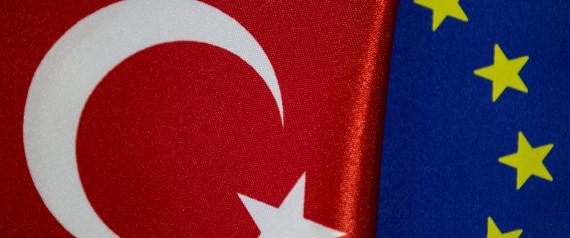 EUROPEAN UNION FLAG TURKEY