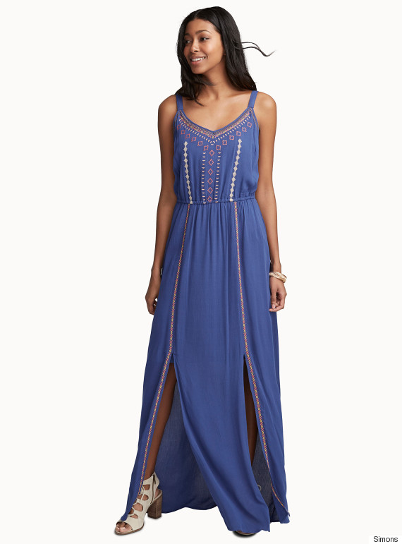 simons maxi dress