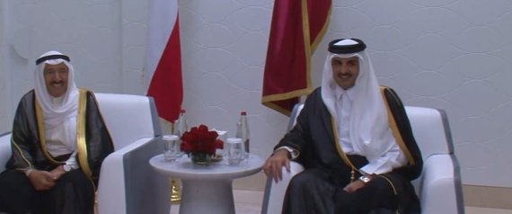AMIR OF KUWAIT AND EMIR OF QATAR
