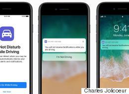 Apple veut bloquer les textos sur iPhone quand nous conduisons