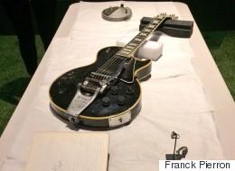 Les reliques de Jimi Hendrix au Musée des beaux-arts de Montréal