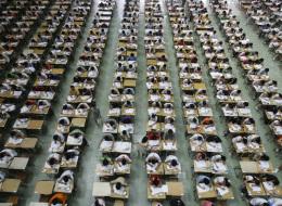 طائرات من دون طيار لحراسة الثانوية العامة في الصين ومراقبة ١٠ ملايين طالب