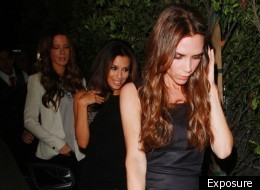 Victoria Beckham & Kate Beckinsale Get Glam For Eva Longoria's Birthday