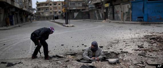 SYRIA IDLIB OFFENSIVE