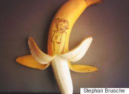 바나나를 활용하는 가장 아름다운 방법(화보)