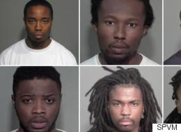 Comparution de huit hommes accusés de crimes violents dans le Grand Montréal