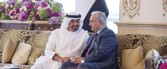 KHALIFA HAFTER AND MOHAMMED BIN ZAYED