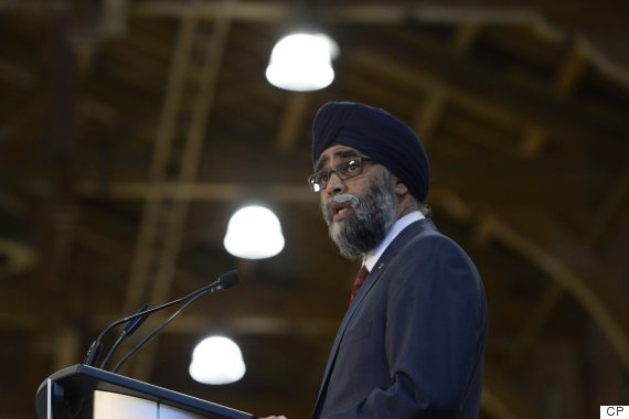 harjit sajjan defence policy
