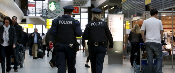 GERMANY AIRPORT POLICE