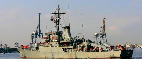 TWO IRANIAN SHIPS