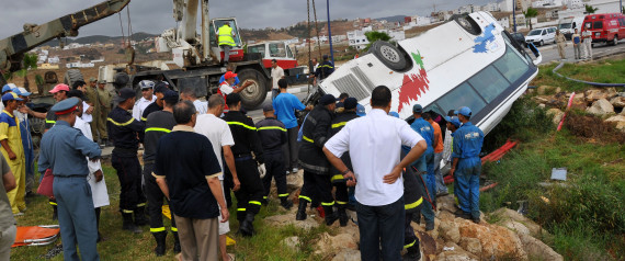 ACCIDENT MOROCCO