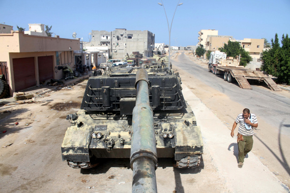 fighters in libya