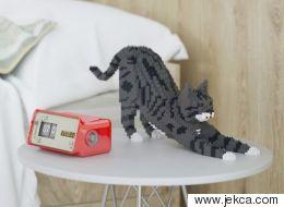 고양이를 조립할 수 있는 블럭 장난감 세트(사진)