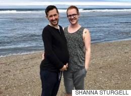[허프 인터뷰] 게이 트랜스 남성과 파트너가 첫 임신에 대해 이야기하다