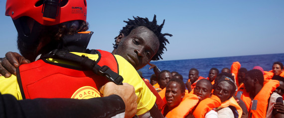 REFUGEES BOAT RESCUE