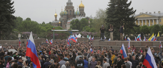 DEMONSTRATIONS IN RUSSIA