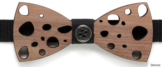 prosac wooden bow tie
