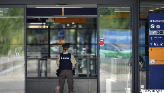 munich subway shooting