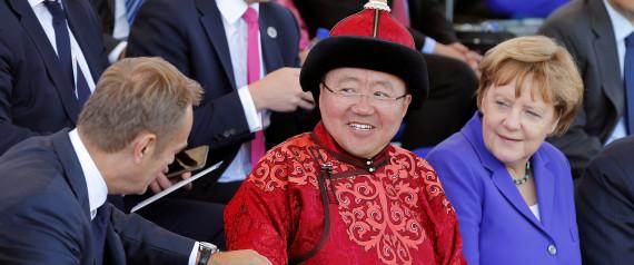 MONGOLIA PRESIDENT