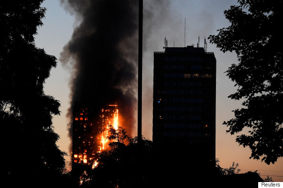 12 die in London 24-storey blaze