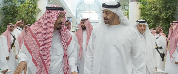 KING SALMAN AND MOHAMMED BIN ZAYED