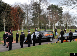 Pc David Rathband Funeral