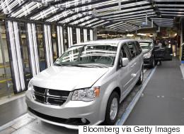Un rappel pour près de 300 000 Dodge Grand Caravan