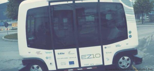 Finnland führt selbstfahrende Minibusse ein - und könnte damit den öffentlichen Verkehr revolutionieren