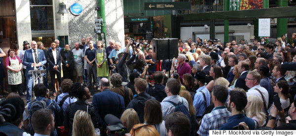 Thanks To Its Extraordinary Community, Borough Market Is Back In Business