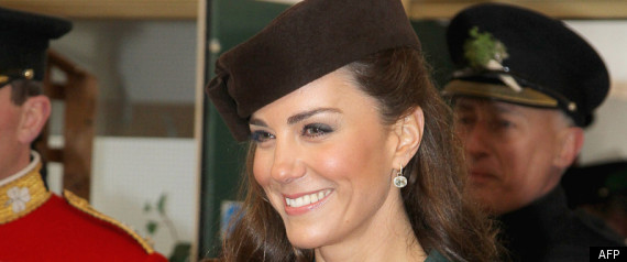 Kate Middleton Stpatrick
