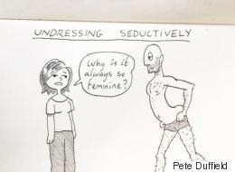 Γνωρίστε τον καλλιτέχνη που μετατρέπει τις αστείες στιγμές με την σύντροφό του σε καρτούν