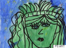 초등학생 그림이 메트로폴리탄 미술관에 걸리다