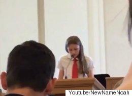 12세 모르몬 교도가 교회서 커밍아웃하다(영상)