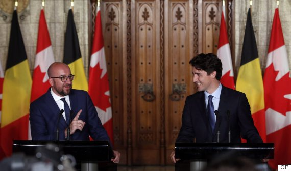 Trudeau Actually Held A 'Poutine Summit' With Belgian PM
